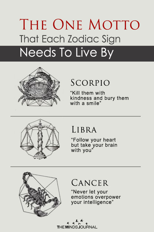 Here is The One Motto That Each Zodiac Sign Needs To Live By