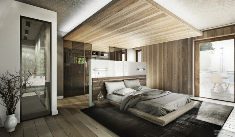 Awesome Bedroom Wall Lighting Ideas: Modern Bedroom With LED Lighting