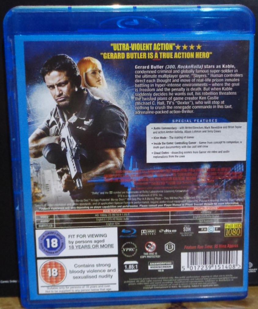 Amber Valletta Gamer movies on dvd and blu-ray: gamer (2009)