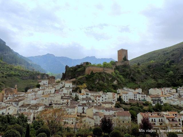 Vistas de Cazorla desde el Balcón del pintor Zabaleta, Jaén, Andalucía