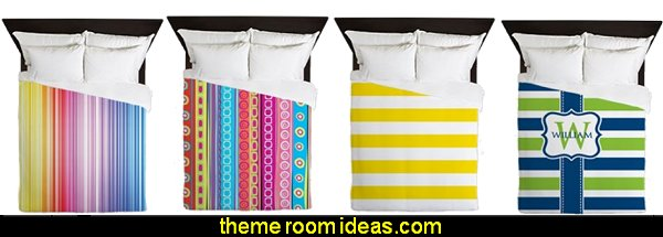 stripes duvet stripes bedding stripes on walls - striped decorating ideas - stripe wall decals - stripes bedding - stripes wallpaper - stripe theme baby nursery - decorating with stripes - striped rooms - painted stripes - striped walls - stripe bedding - stripe pillows - striped decorations