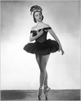 Prima Ballerina Rosella Hightower in ballet pose