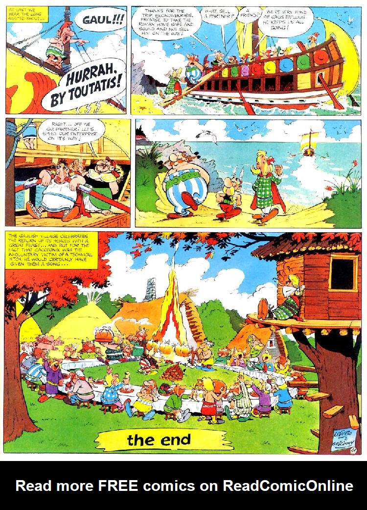 Read online Asterix comic -  Issue #4 - 48