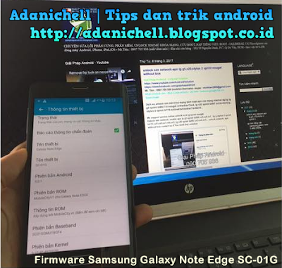 Firmware Samsung Galaxy Note Edge SC-01G