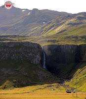 Grundarfoss en Grundarfjörður, Snæfellsnes, Islandia