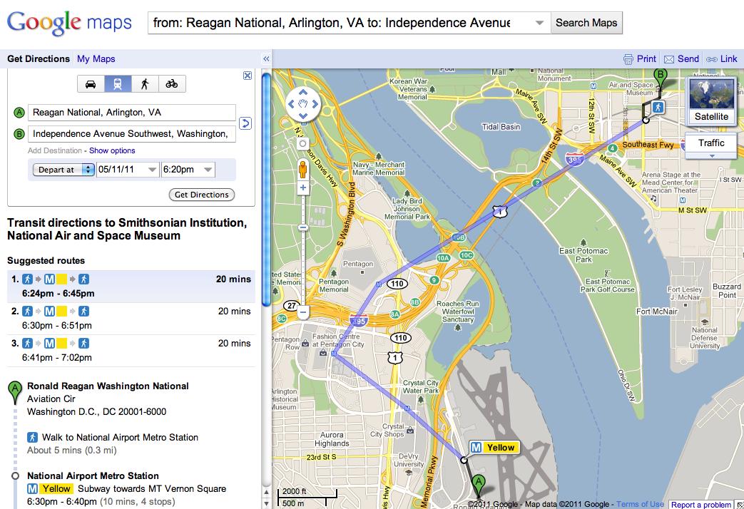 Google Lat Long: Google Transit goes to Washington on google earth dc, street map nw washington dc, neighborhood and ward map dc, area code map dc, map of dc, road map washington dc, google weather dc, google traffic dc, google map of downtown seattle,