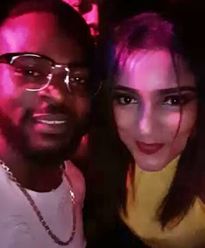 #BBNaija: You won't believe what Gifty and Rapper, Falz was caught doing at a Nightclub (WATCH)