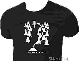 Local Route Disc Golf Shirt