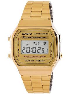 Jam Tangan Wanita Casio Gold Modis