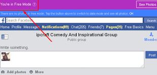 Cara Menggunakan Facebook Secara Gratis Tanpa Langganan Internet 1