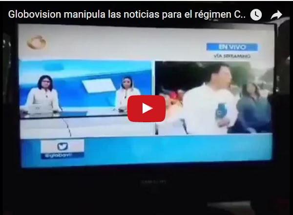 Prueba de manipulación de noticias de Globovisión