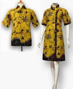 Model Baju Batik Pesta wanita