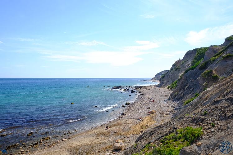 Le Chameau Bleu - Blog Voyage Block Island - une des plages de Block Island - Rhode Island
