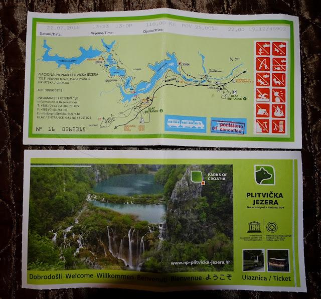 Jakie są ceny wejścia do Jezior Plitvickich?