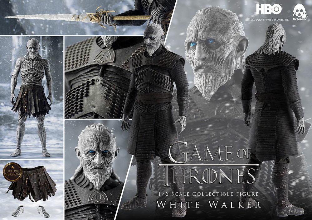 6ac115f04 #GameofThrones WHITE WALKER in 1/6 by Threezero for March 2nd Pre-order