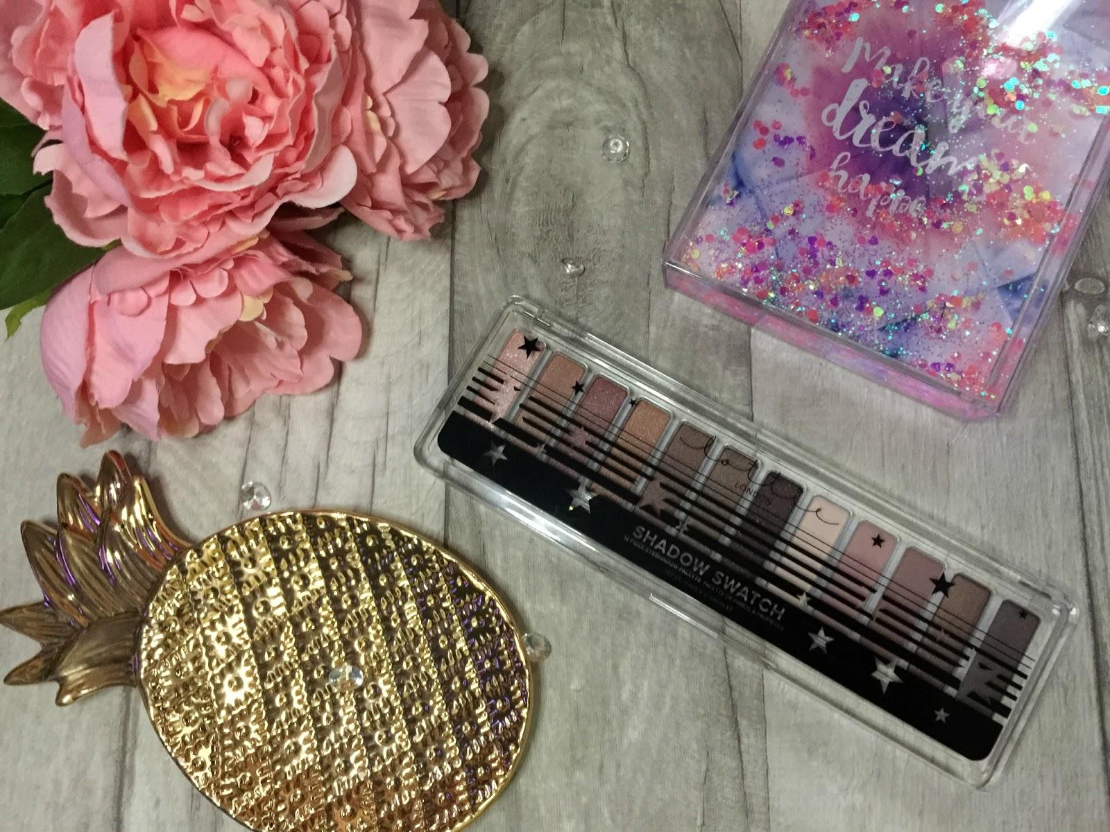 lottie london rose gold eyeshadow palette review