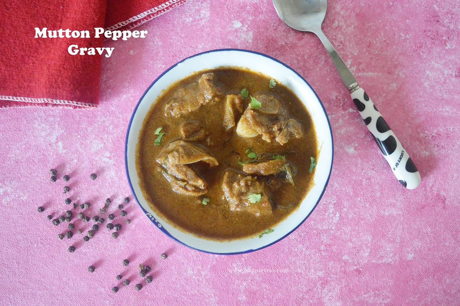 Pepper Mutton Gravy | Milagu mutton Curry