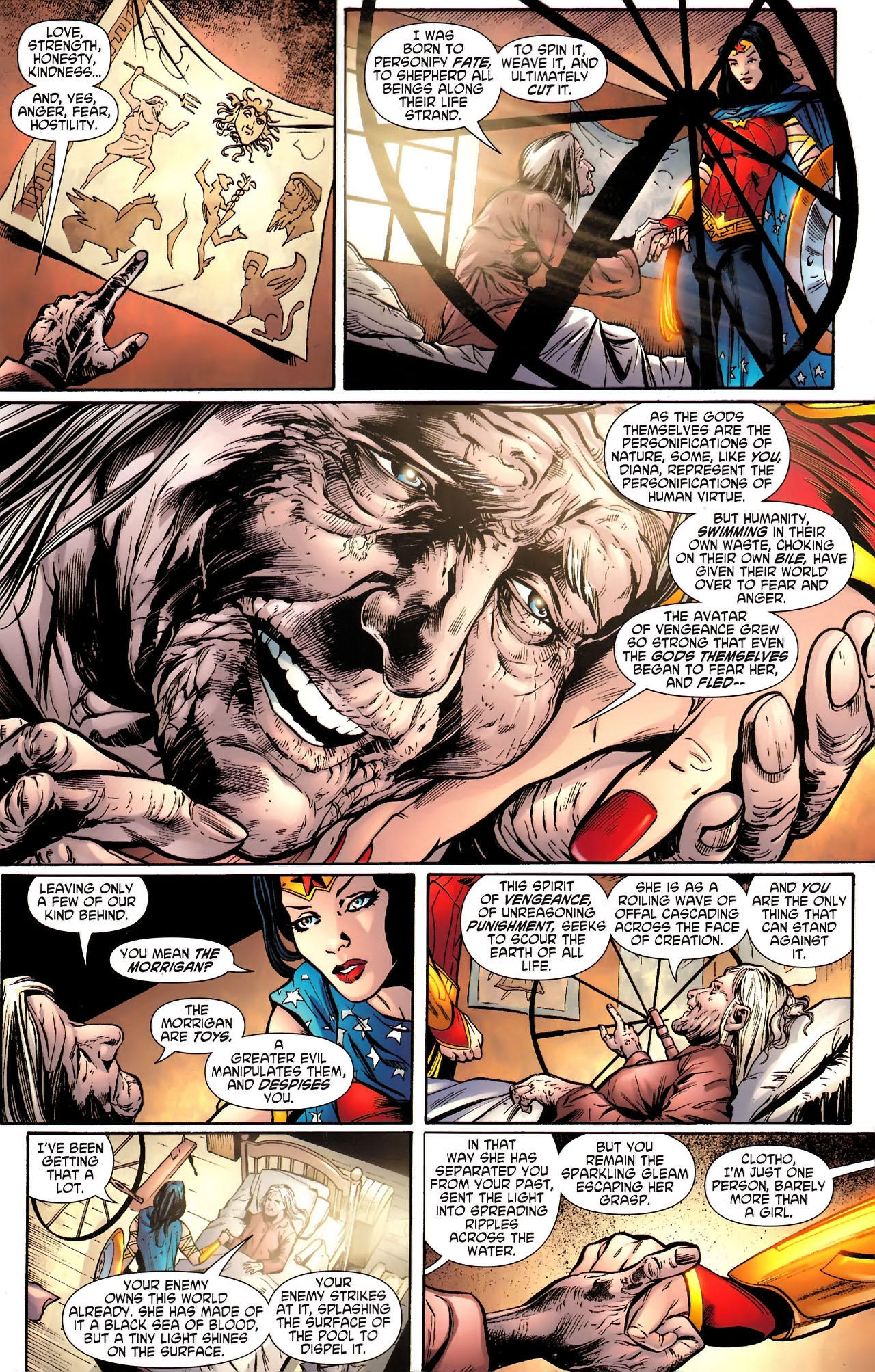 Read online Wonder Woman (2006) comic -  Issue #610 - 9