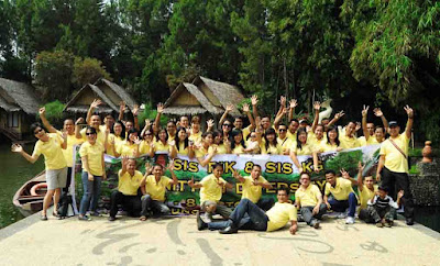 Paket Gathering Kampung Sampireun Garut Jawa Barat 2018