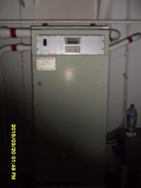 Transmitter interface cabinet