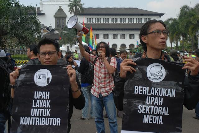 AJI Jakarta Tetapkan Upah Layak Wartawan Rp7,5 Juta