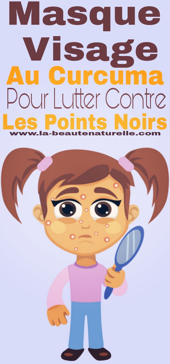 masque visage au curcuma pour lutter contre les points noirs. Black Bedroom Furniture Sets. Home Design Ideas