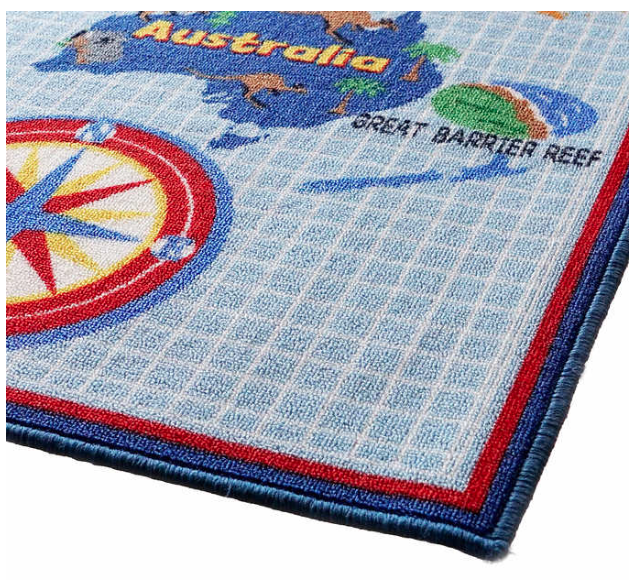 Smithsonian World Map Rug: Teachers: Ready Your Classrooms For The New School Year