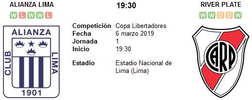 Alianza Lima vs River Plate en VIVO