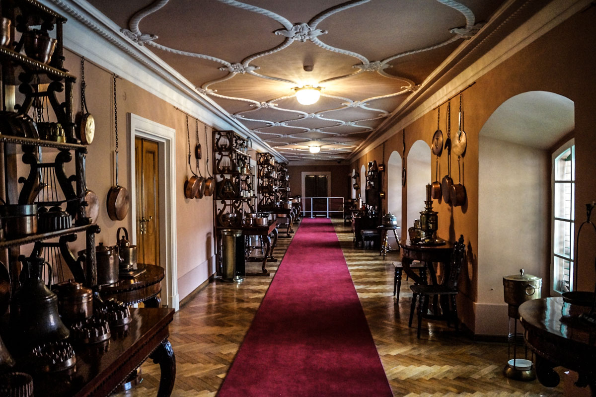 Muzeum_Zamek_w_Lancucie_drugie_pietro