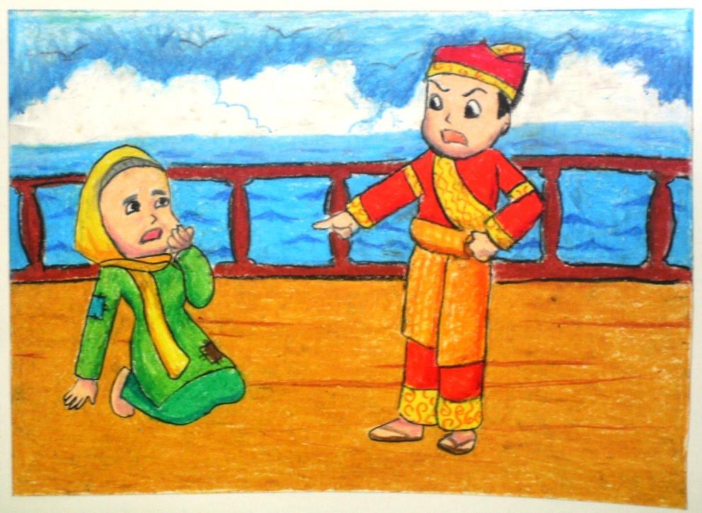 Cerita Legenda Malin Kundang Anak Durhaka Cerita Rakyat Cerita