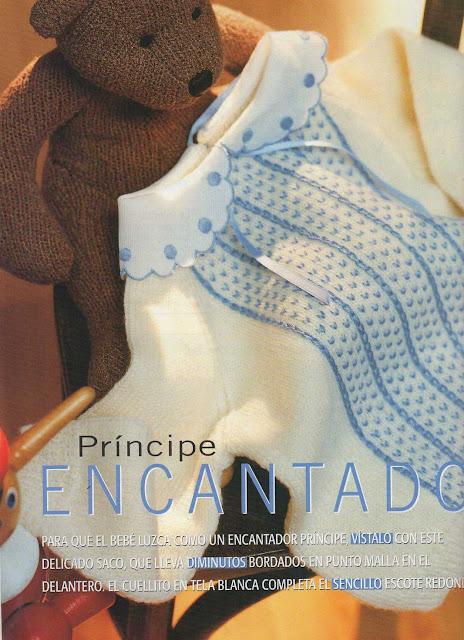 Patrón #1596: Príncipe Encantado a Dos Agujas