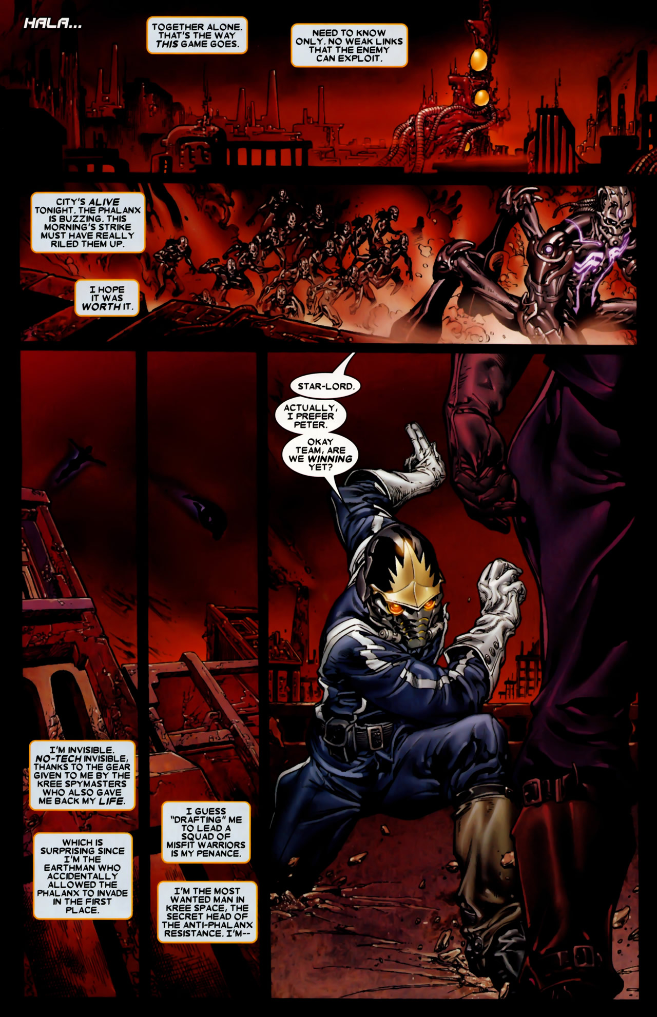 Read online Annihilation: Conquest comic -  Issue #2 - 14
