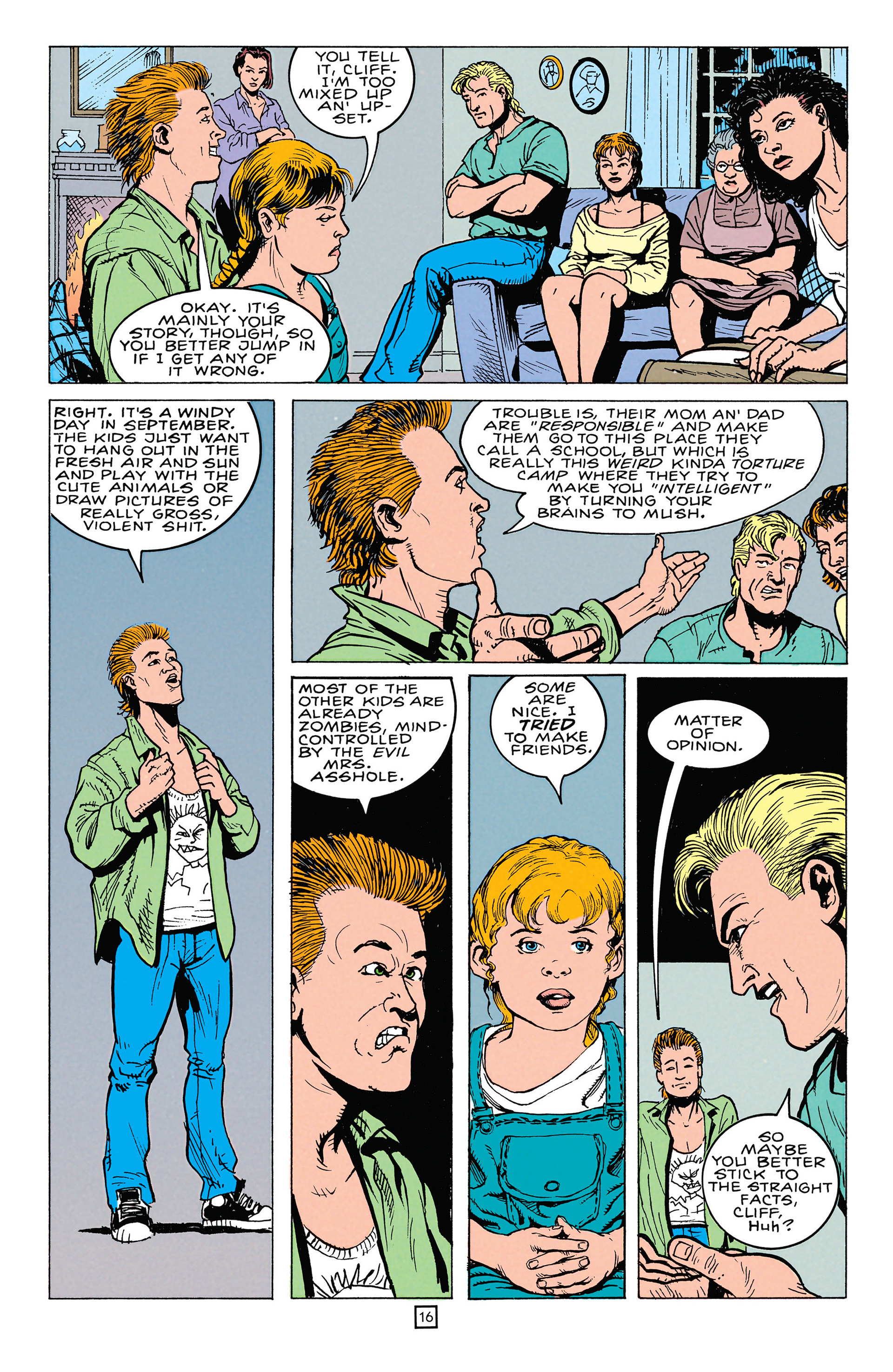 Read online Animal Man (1988) comic -  Issue #64 - 17