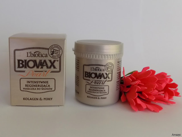 Biovax Pearl, Intensywnie regenerująca maseczka do włosów, L'biotica