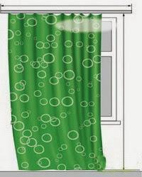 картинка шторы выше уровня пола