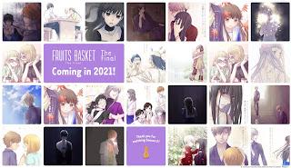 Última temporada de Fruits Basket estreia em 2021