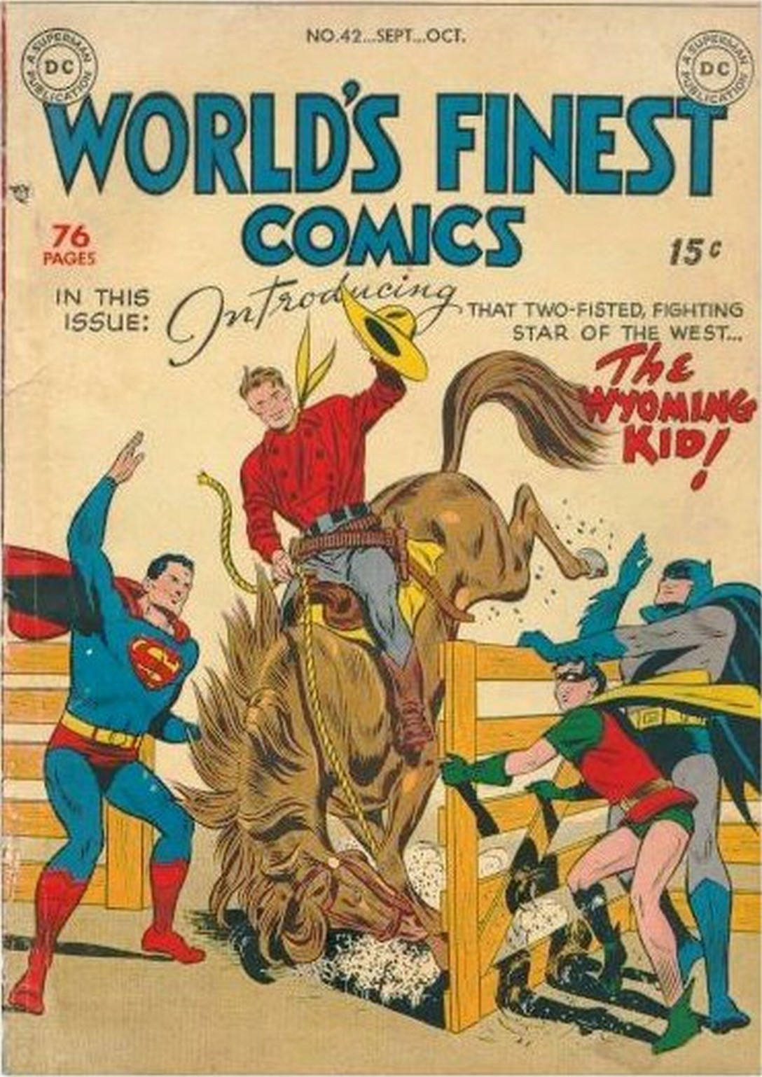 Read online World's Finest Comics comic -  Issue #42 - 1