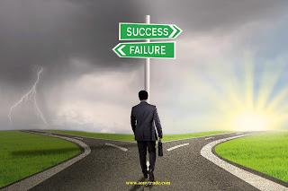 perbedaan orang sukses gagal belajar trading forex saham surabaya