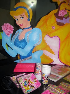 KIT DECORACION FIESTA PRINCESAS DISNEY