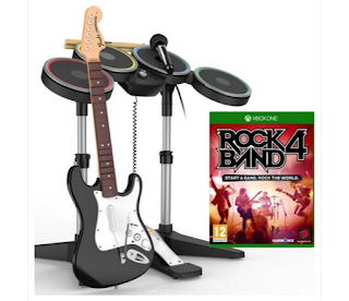 Discount up to 75%, Rock Band 4 Band, In A Box, Xbox One PS4 £49.99 Argos