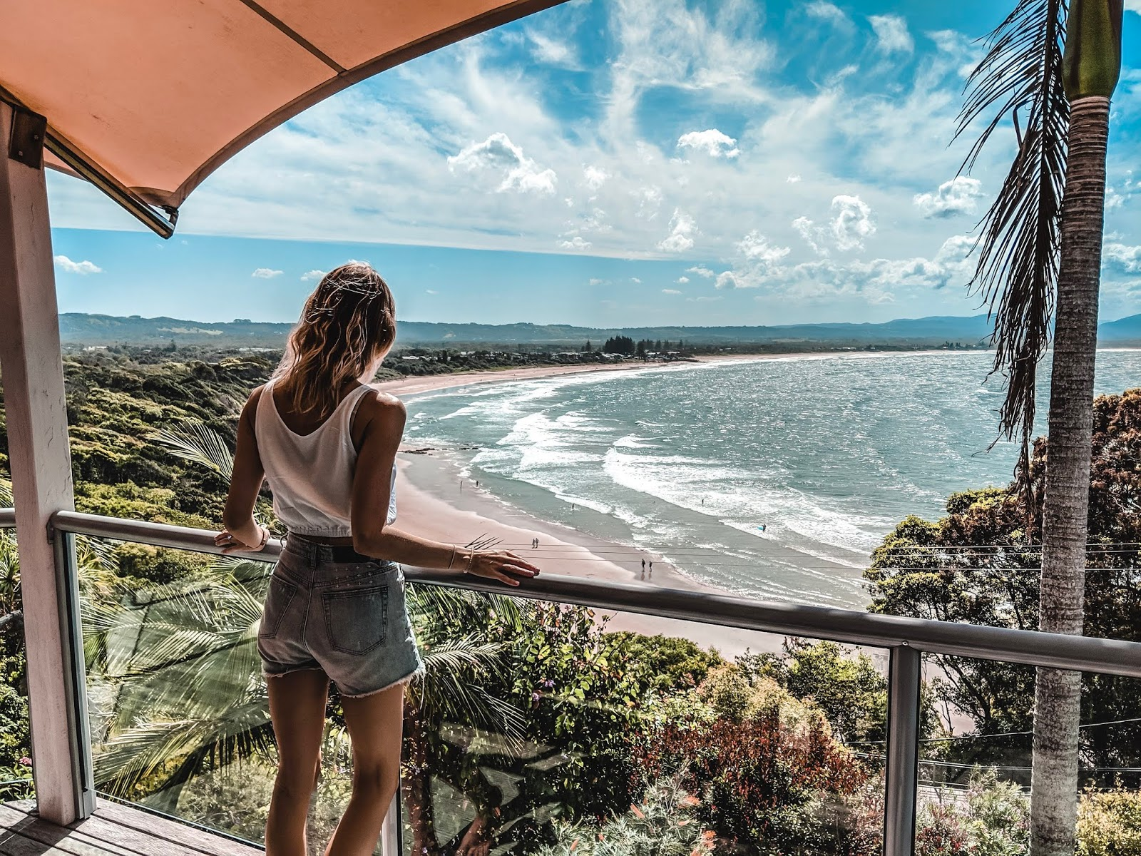 view of Byron Bay