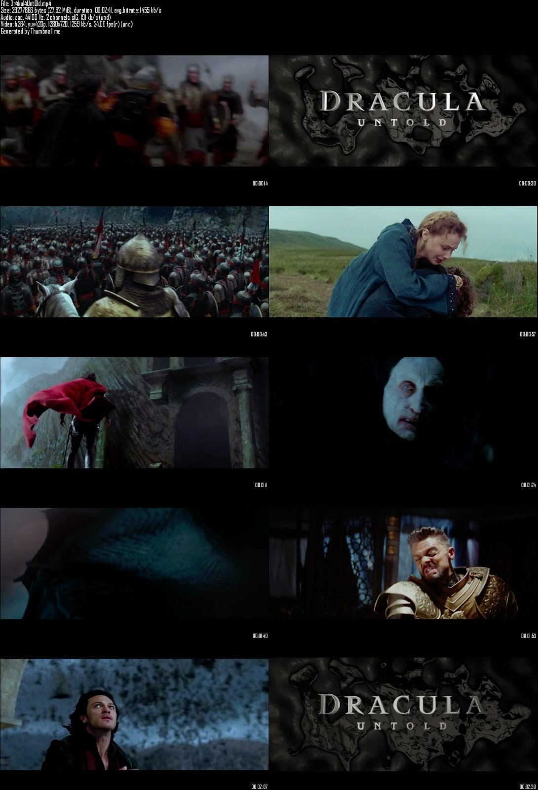 Mediafire Resumable Download Link For Teaser Promo Of Dracula Untold (2014)