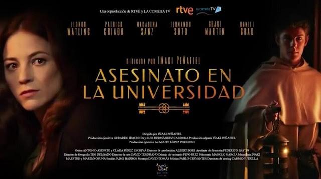 'Asesinato en la universidad' (2018), de Iñaki Peñafiel