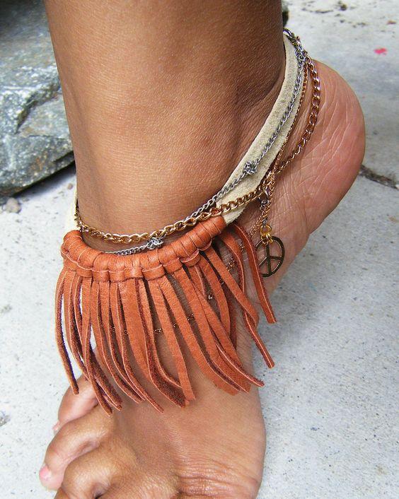 Toe Ring Anklet Bracelet Tattoo