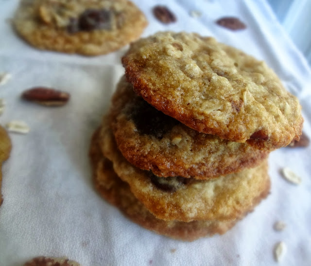 Loaded Oatmeal Coconut Cookies