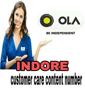 ola customer care number indore