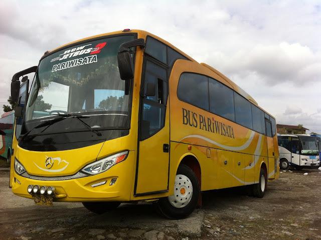Rental Bus Pariwisata di Medan Full AC
