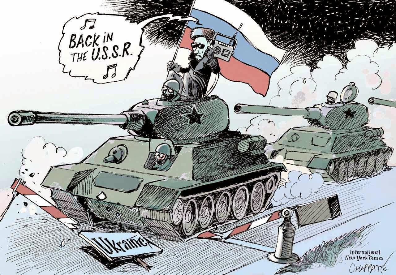 Putin nega querer restaurar a URSS ao pé da letra, mas reedita na prática as estratégias de Lênin e Stálin.