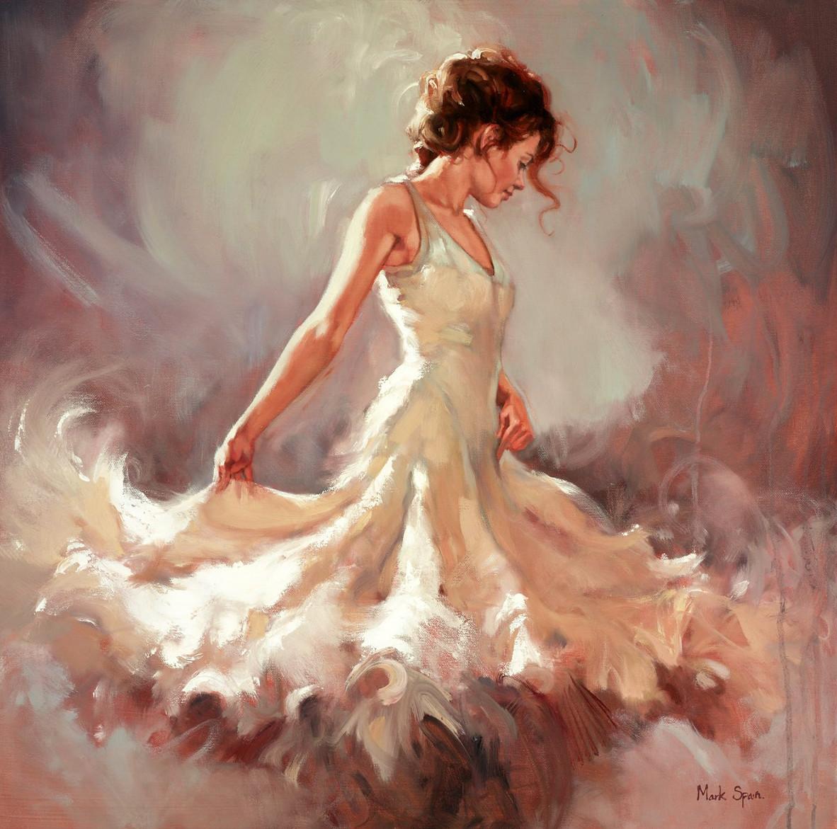 Mark Espanha | pintor figurativo ~ dança flamenga