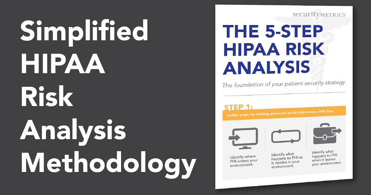 5 Step HIPAA Risk Analysis Sample